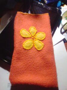 Smartphonehülle mit Blume